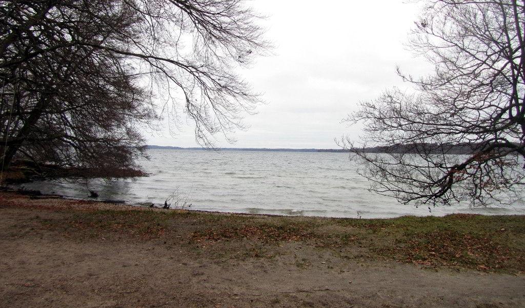 Udsigt over Esrum sø