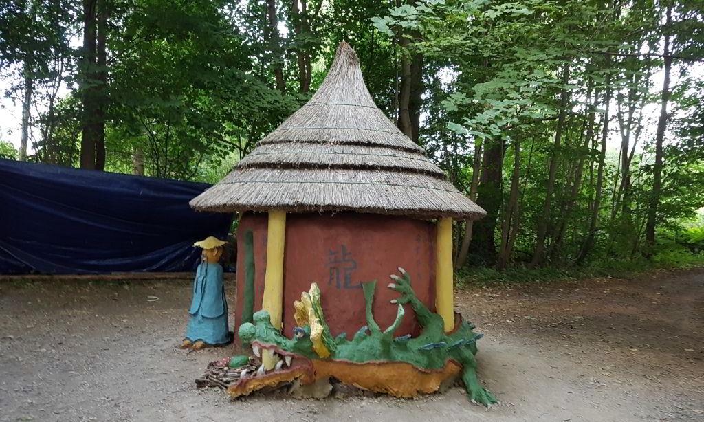 Der var middelalder festival Ved Farum sø